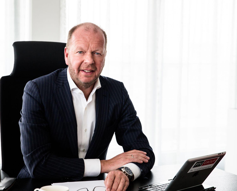 Porträt: Vincent Kobesen, CEO der PTV Group