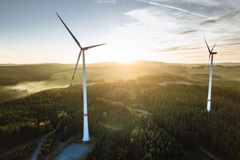 Windkraftanlagen. Thema: Future Fuels. Foto: Bene_A / iStock