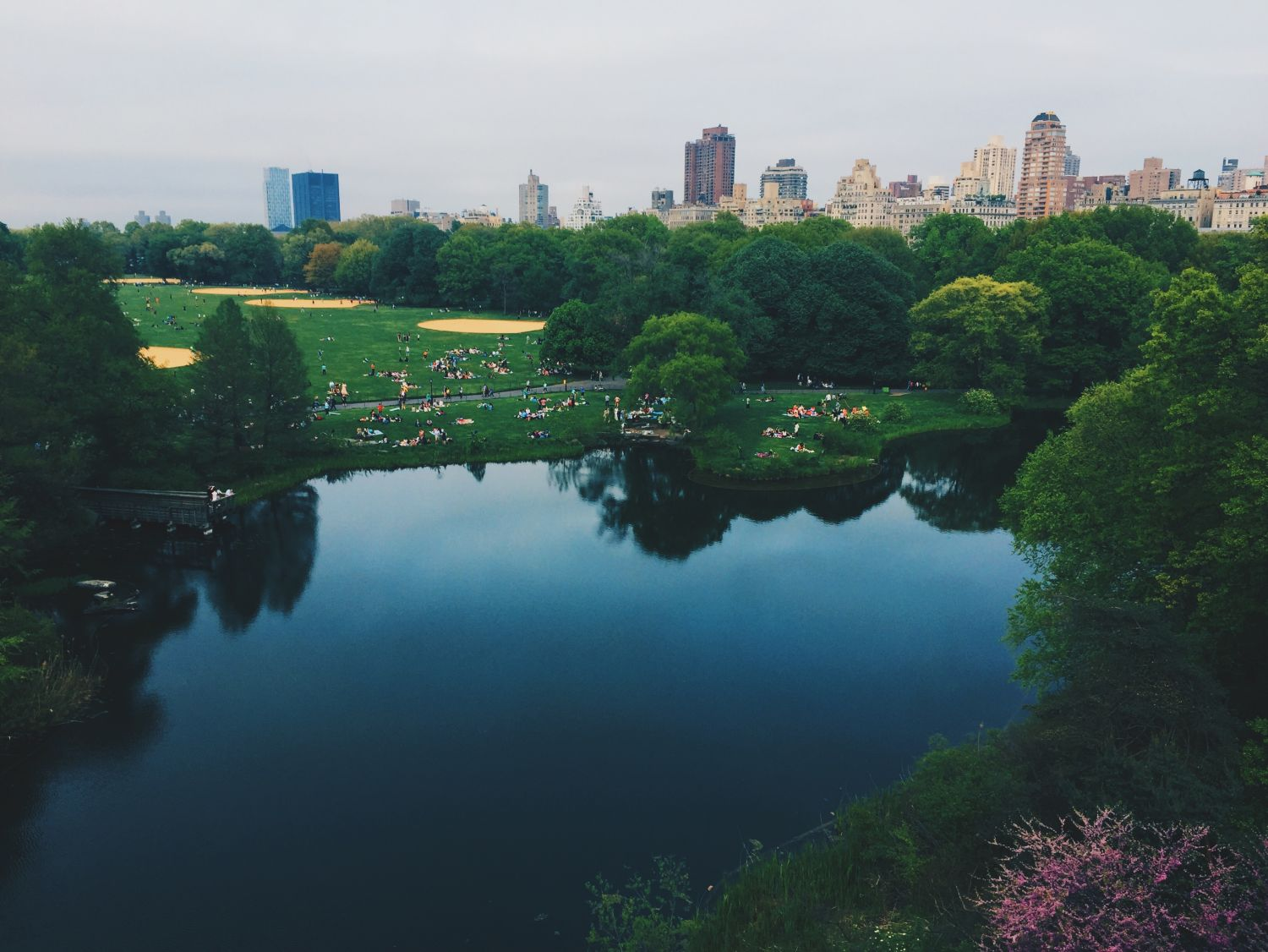 Central Park in New York; Thema: Stadt oder Land